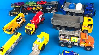 City Vehicles - Fork Lift Dump Truck Crane Cement Truck Tram Tanker Mighty Machines