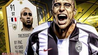 FIFA 19 TREZEGUET REVIEW | 91 PRIME ICON TREZEGUET PLAYER REVIEW | FIFA 19 ULTIMATE TEAM