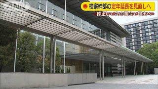 検察幹部の定年延長 特例規定を削除する方針(20/06/17)