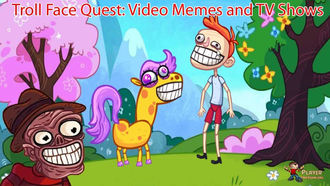 Troll Face Quest Video Memes and TV Shows: Part 2 Walkthrough HD