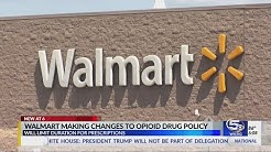 Walmart adopts stricter policy over opioid prescriptions