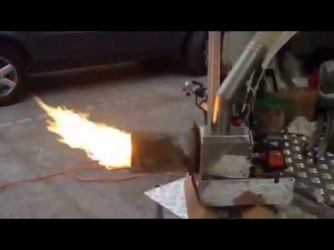 Modifica caldaia gasolio a pellet con bruciatore p doovi for Stufa autocostruita