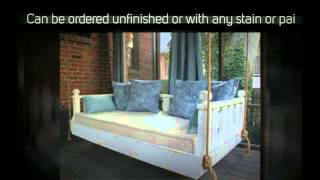Ridgidbuilt New Orleans Hanging Daybed Swing