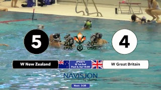 G271   EW NZL Vs. GBR   20th CMAS Underwater Hockey World Championships