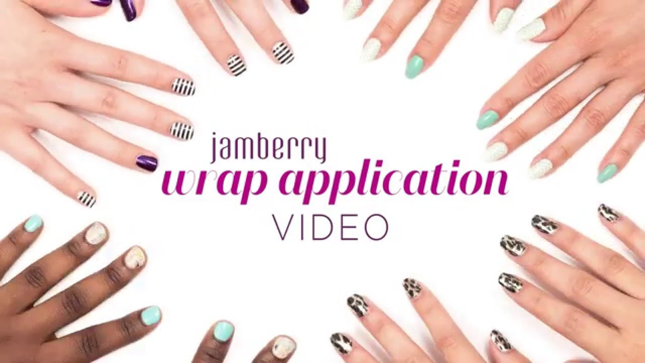 Jamberry Official Wrap Application Video - UK - YouTube