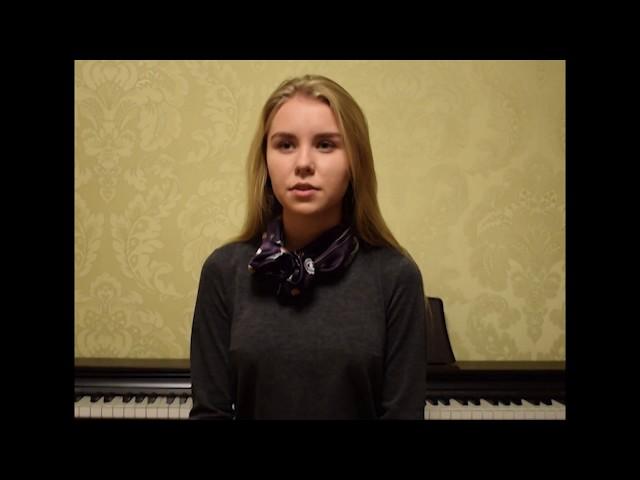 Изображение предпросмотра прочтения – ВалерияГолубкина читает произведение «Вчера еще в глаза глядел...» М.И.Цветаевой