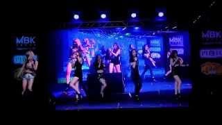 """Crazy In Love"" by ""ไกอา"" (GaiA) @ ""MBK Korea Cover Dance 2014"""