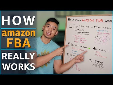 ALL Amazon FBA Steps Explained In-Depth For Beginners! Easy To Follow Guide