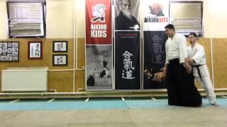 ushiro ryotedori kokyunage [TUTORIAL] Aikido empty hand basic technique: