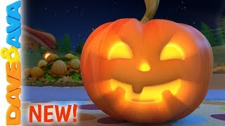🎃Little Pumpkin - Halloween Songs | Nursery Rhymes by Dave and Ava 🎃