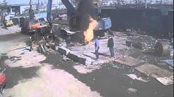 Welding a Propane Tank Gone Wrong