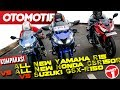 Komparasi Sport 150cc All New Yamaha R15 vs All New Honda CBR150R vs Suzuki GSX-R150 (Part 1)