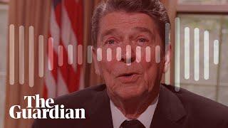 Ronald Reagan called African diplomats 'monkeys' in call to Richard Nixon – audio
