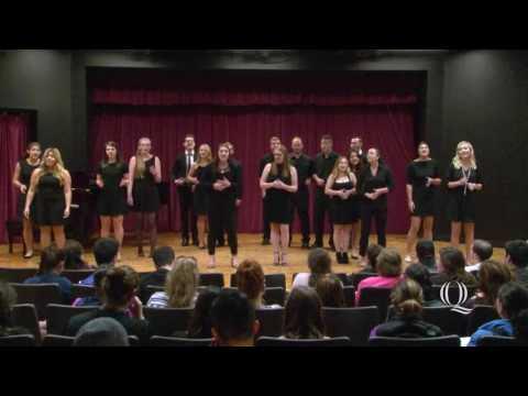 Quinnipiac University 2017 Spring Concert - A Cappella Group