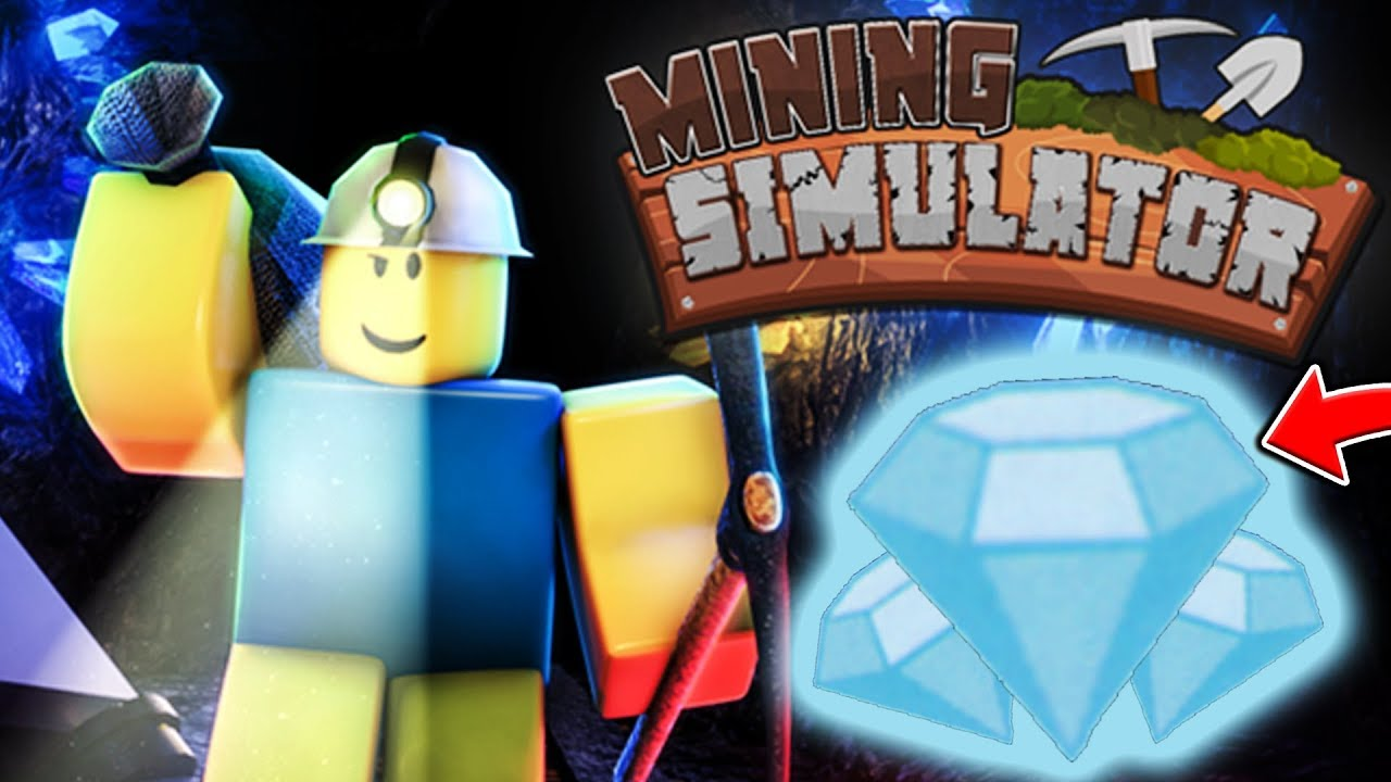 DIAMOND MINING SIMULATOR - ROBLOX MINING SIMULATOR #2