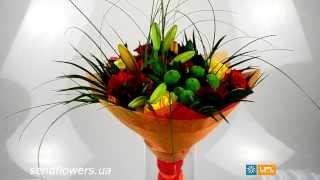 Букет Для друзей - SendFlowers.ua. Цветы друзьям. Заказать букет цветов для друзей(, 2014-01-20T17:05:54.000Z)