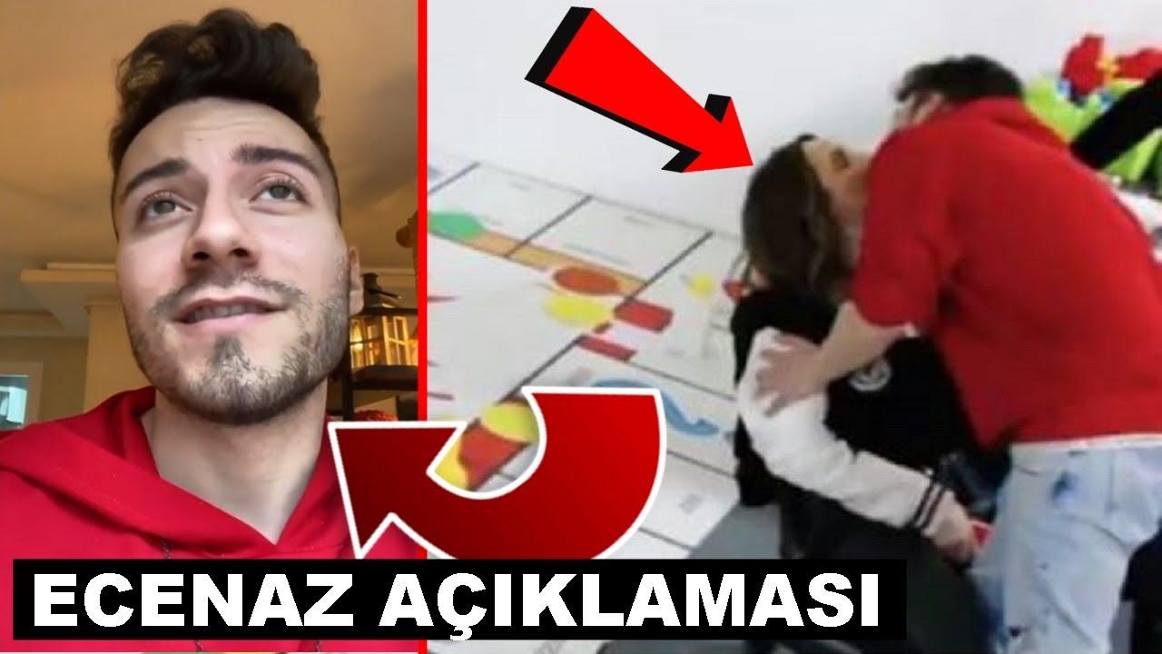 Enes Batur Ecenaz Hakkinda Aciklama Yapiyor Sevgililer Mi Youtube