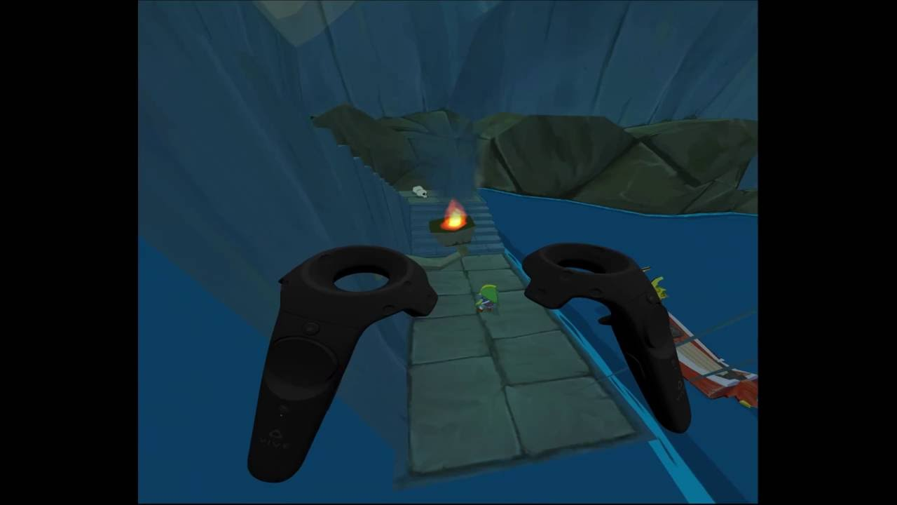 Dolphin VR, Scale and grab the game world and HUD with motion controllers