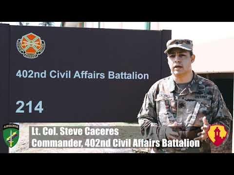402nd Civil Affairs Battalion Hurricane Maria Relief