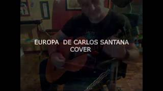 EUROPA de Carlos Santana - pequeño cover flatpicking