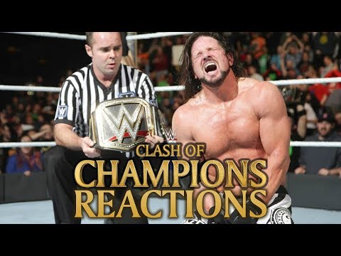 WWE Clash Of Champions 2017 Reactions