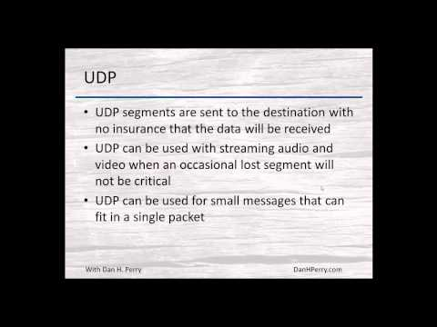 TCP/IP Basics - Episode 027 - UDP headers