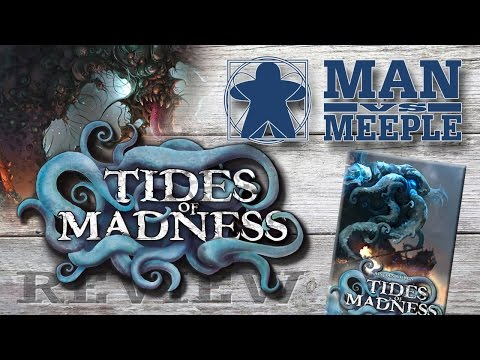 Tides of Madness (Portal Games) Review by Man Vs Meeple