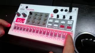 Korg Volca Sample Song Mode Tutorial / Tutorial Mo