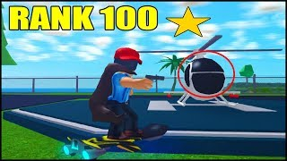 SEE HOW I GOT RANK 100 IN THE MAD CITY EASY!! ROBLOX