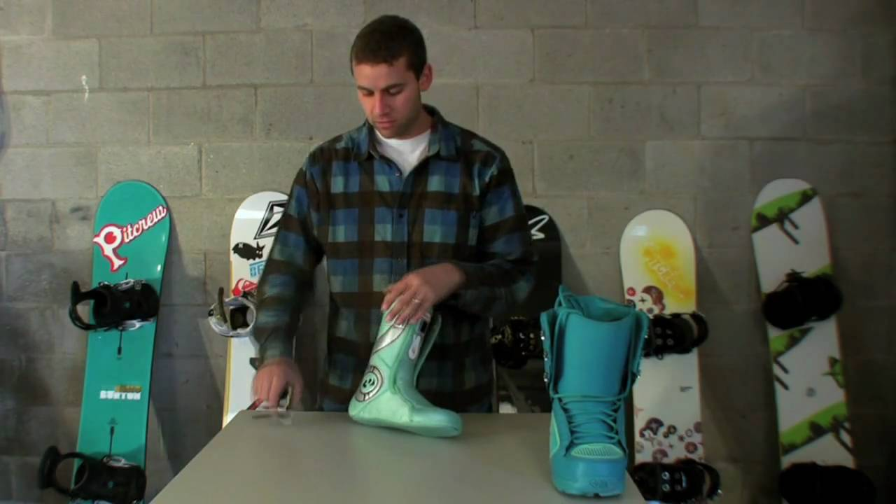 Snowboard boots fitting
