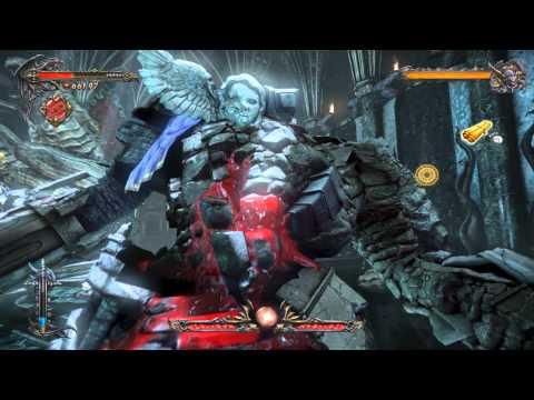 Lords of Shadow 2 Dracula vs Stone Golem