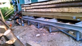 Подъем дома.Ремонт фундамента(Подъем дома.Ремонт фундамента. Подробнее о подъеме дома и ремонте фундамента можно узнать на сайте http://svainy-f..., 2014-11-09T12:50:01.000Z)