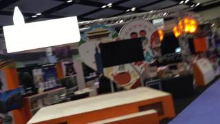 Behind the Scenes at a Travel Show
