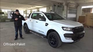 Ford Ranger Wildtrak Neuwagen Präsentation