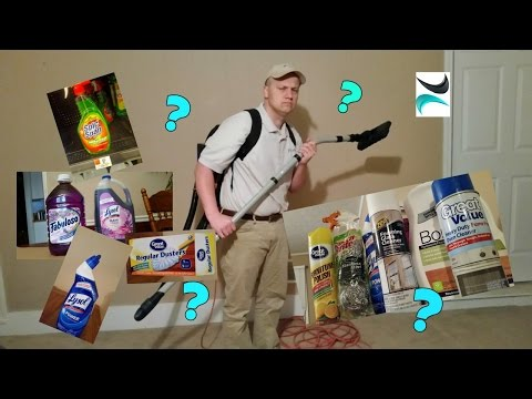 Let's Talk Cleaning Supplies!  Where To Start- Test For Scratching