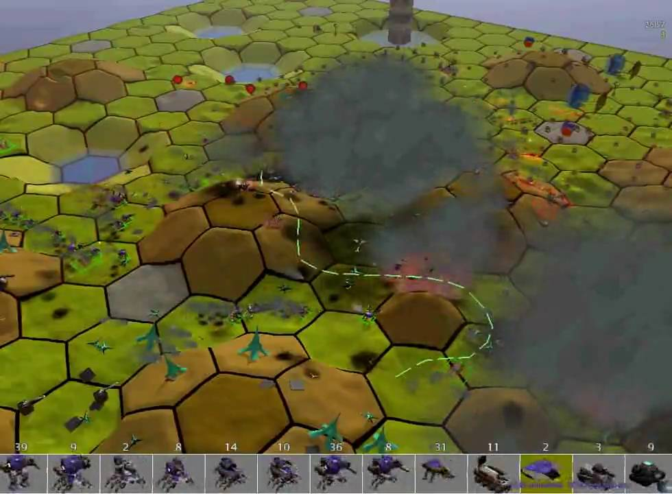 Spring 78 Rts Ta Tutomod13x Hexagon Map Wargame Mobilcastl Youtube