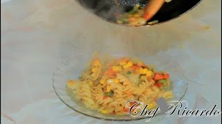 How To Make Jamaican Jerk Pasta Form Chef Ricardo Cooking