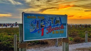 Siesta Key Beach is open