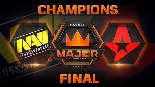 NaVi vs Astralis - Nuke (FACEIT Major: London 2018)