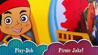 Playdoh Pirate Adventure Pirate Jake And The Neverland Pirates With Captain Hook And Pirate Ship