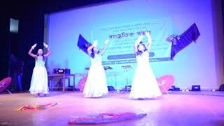Download Video Akashe batashe chol sathi ure jai chol dana mele Dance performance MP3 3GP MP4