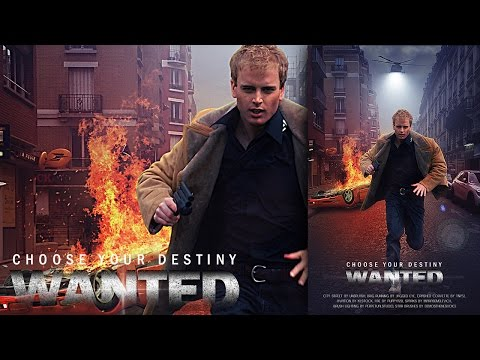 Photoshop Tutorial Create Action Movie Poster With Light Eff