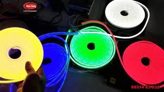 Đèn led dây 12V neon  trang trí ngoài trời