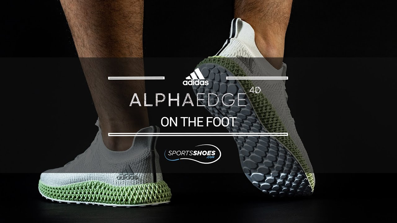 adidas AlphaEdge 4D | On The Foot | SportsShoes