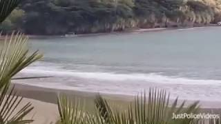 Police Chase on Beach