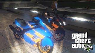 """SZYBKIE MOTOCYKLE I NOCNA JAZDA! w GTA 5 Online Hogaty i SYLO """"WYZWANIE KAMERY FPP!"""" #69"""