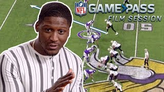 Xavier Rhodes Breaks Down Being a Number 1 Corner | NFL Film Session