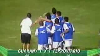 03/02/2010 - Guarany(s) 1 x 1 Ferroviário