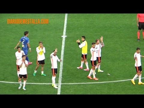 VCF Mestalla 1 -  CF Badalona  1