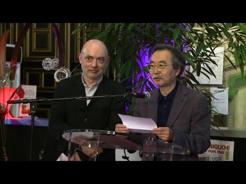 Japanese manga artist wins top comic prize at Angouleme